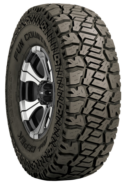 Fun Country LT305/70R18 35.08 Inch Light Truck Radial Tire Black Sidewall Dick Cepek - 90000001931
