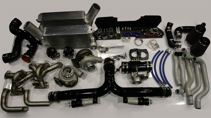Agency Power GT30 Turbo Parts Upgrade Kit Porsche 997 Turbo 07-09