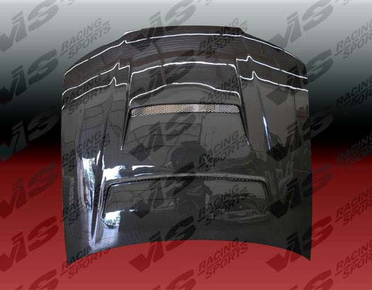 VIS Racing Carbon Fiber Tracer Hood Nissan Silva S15 99-02 - 99NSS152DTRA-010C