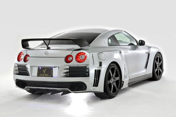 Abflug Rear Over Fender kit (GFRP) Nissan GT-R R35 09-13