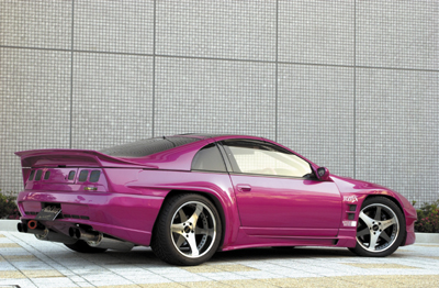 Abflug Rear Over Fender kit ver. 300ZG (2seater) Fairlady Nissan Z32 300ZX 90-99