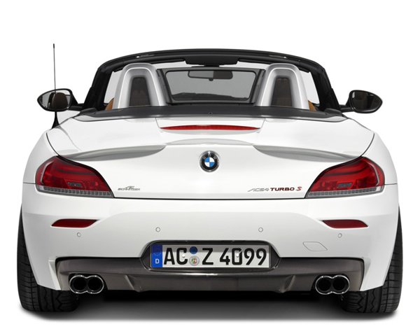 AC Schnitzer Carbon Rear Diffuser BMW Z4 E89 with M Sports Package 09-14