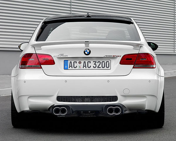 AC Schnitzer Carbon Rear Diffuser without Clear Coat BMW M3 Coupe E92 | Cabrio E93 08-13