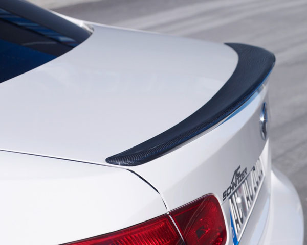 AC Schnitzer Carbon Rear Spoiler with Clear Coat BMW M3 Coupe E92 08-13