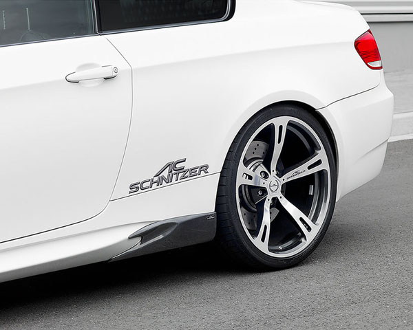 AC Schnitzer Side Skirt Design Elements with Clear Coat BMW M3 Coupe E92 | Cabrio E93 08-13