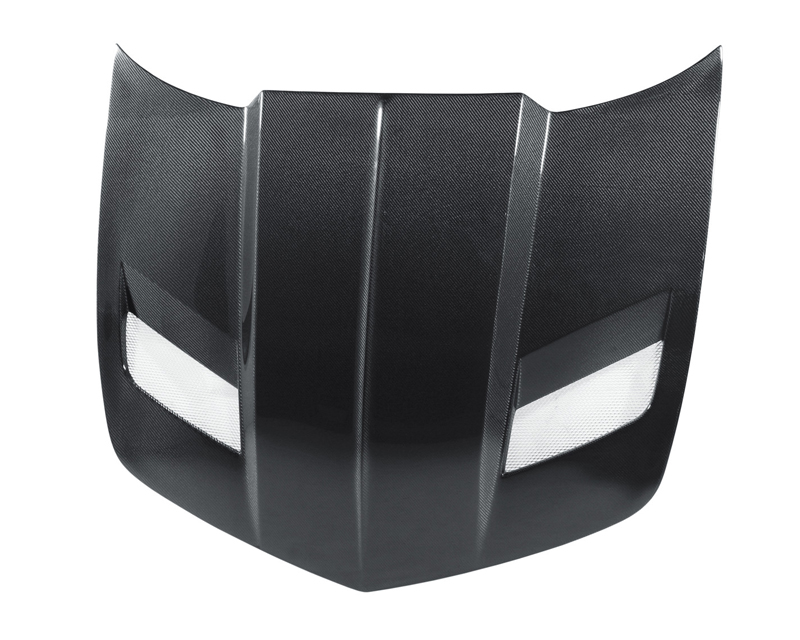 Anderson Composites Carbon Fiber BB-II Style Hood Chevrolet Camaro 10-13 - AC-HD1011CHCAM-BBII