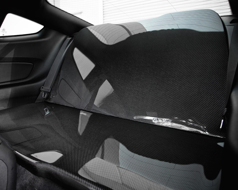 Anderson Composites Carbon Fiber Rear Seat Delete Ford Mustang 15-16