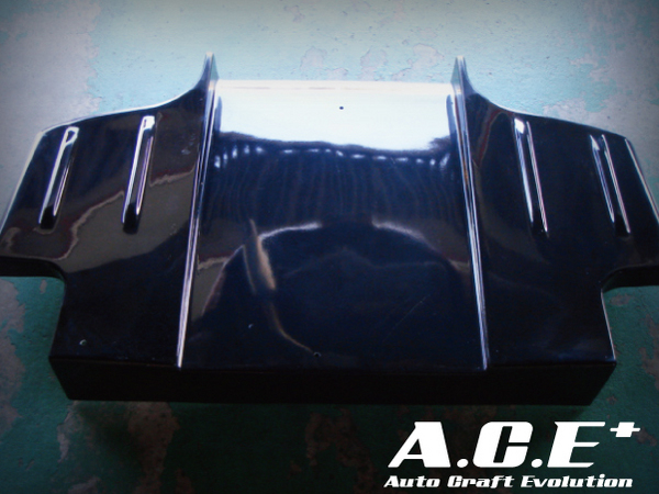 Auto Craft Rear Under | Diffuser 03 Type B - Carbon Mazda RX-7 FD3S 93-02