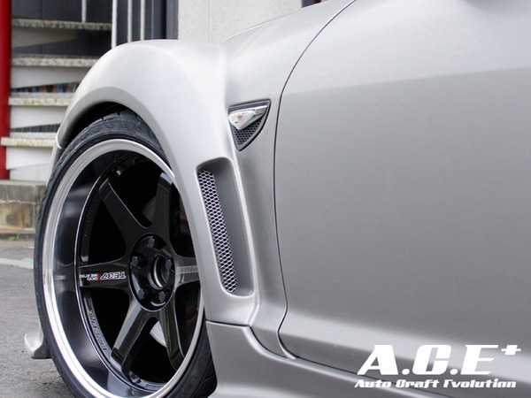 Auto Craft Front Fender | exchange type 01 Type A Mazda RX-8 03-11