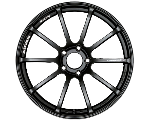 Advan RSII Wheel 17x7 4x100 +42mm Semi Gloss Black