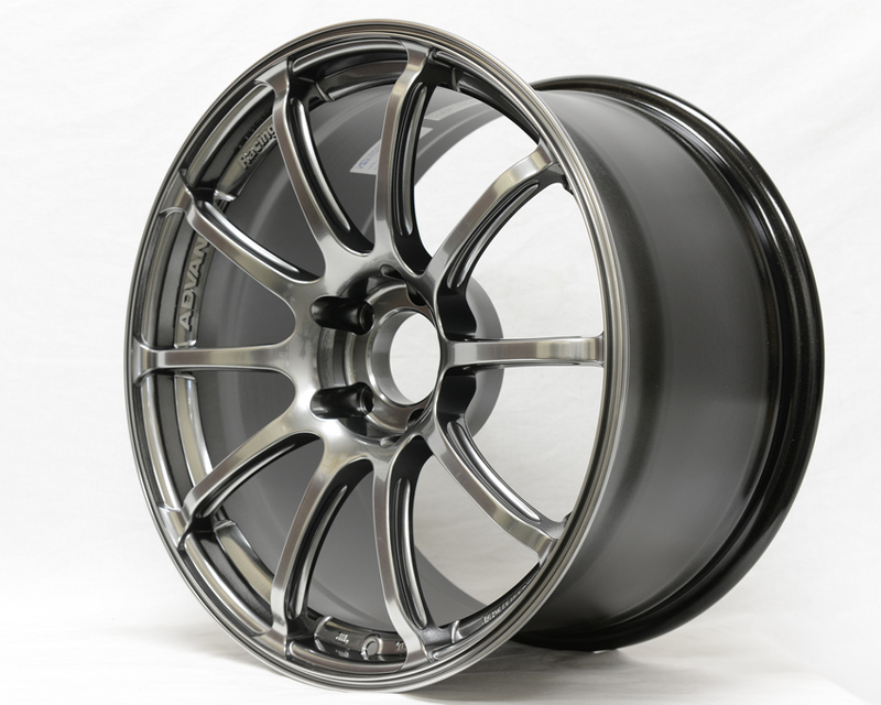 Advan RSII Wheel 17x7 4x100 +42mm Racing Hyper Black