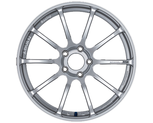 Advan RSII Wheel 17x7 4x100 +42mm Racing Hyper Silver