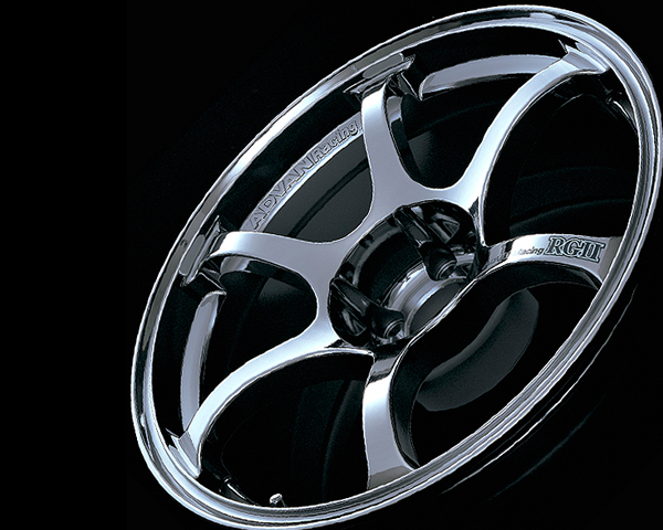 Advan RGII Wheel 15x7  4x100 +41mm Bright Chrome