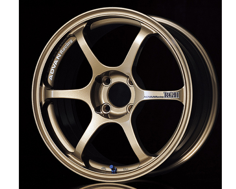 Advan RGII Wheel 15x6.5 4x100 +41mm Bronze