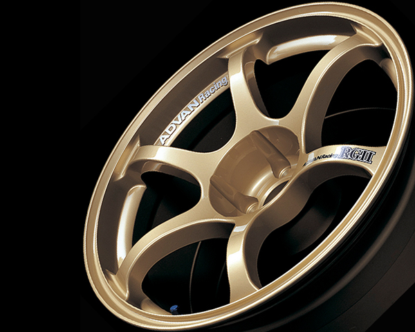 Advan RGII Wheel 15x6.5 4x100 +41mm Gold