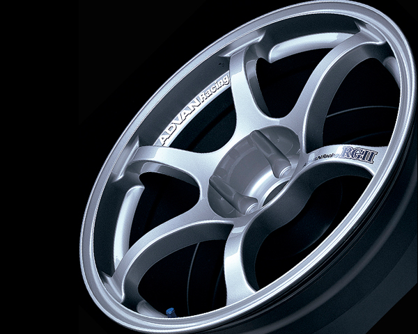 Advan RGII Wheel 15x6.5 4x100 +41mm Silver