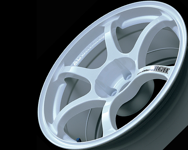 Advan RGII Wheel 15x7  4x100 +35mm White