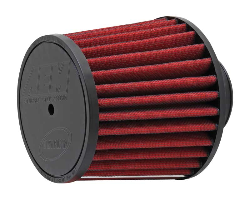 AEM DryFlow Air Filter 2.5inch X 5inch With 7|16inch Hole Universal
