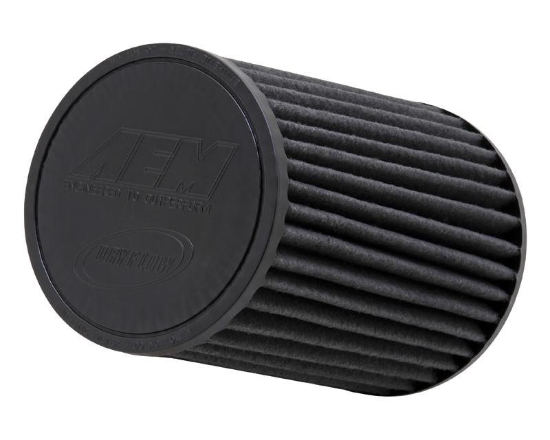 AEM DryFlow Air Filter 2.75inch X 8inch Universal
