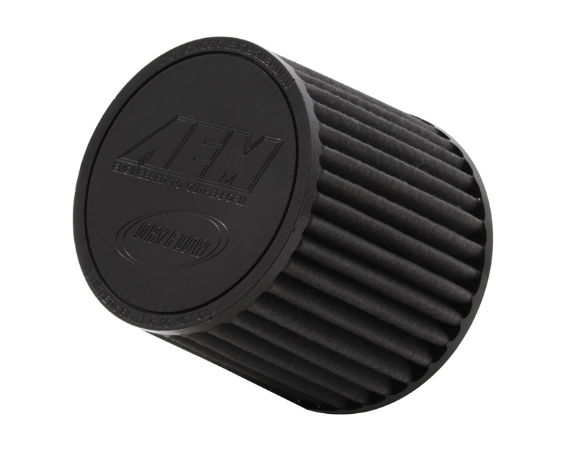AEM DryFlow Air Filter 2.75inch X 5inch Universal