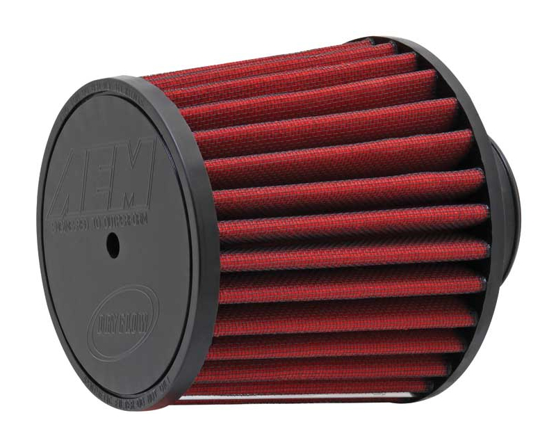 AEM DryFlow Air Filter 2.75inch X 5inch With 7/16inch Hole Universal