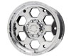American Outlaw Colt 16X8  5x114.3  -6mm Chrome