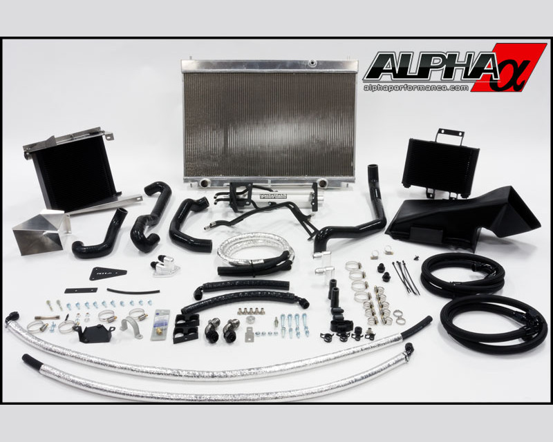 AMS Performance Race Cooling Kit Nissan GT-R R35 12-15