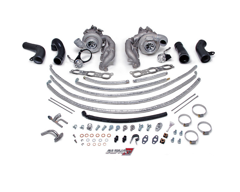 AMS Performance Alpha 9 Turbo Upgrade without Core Being Sent In Nissan GT-R R35 09-15