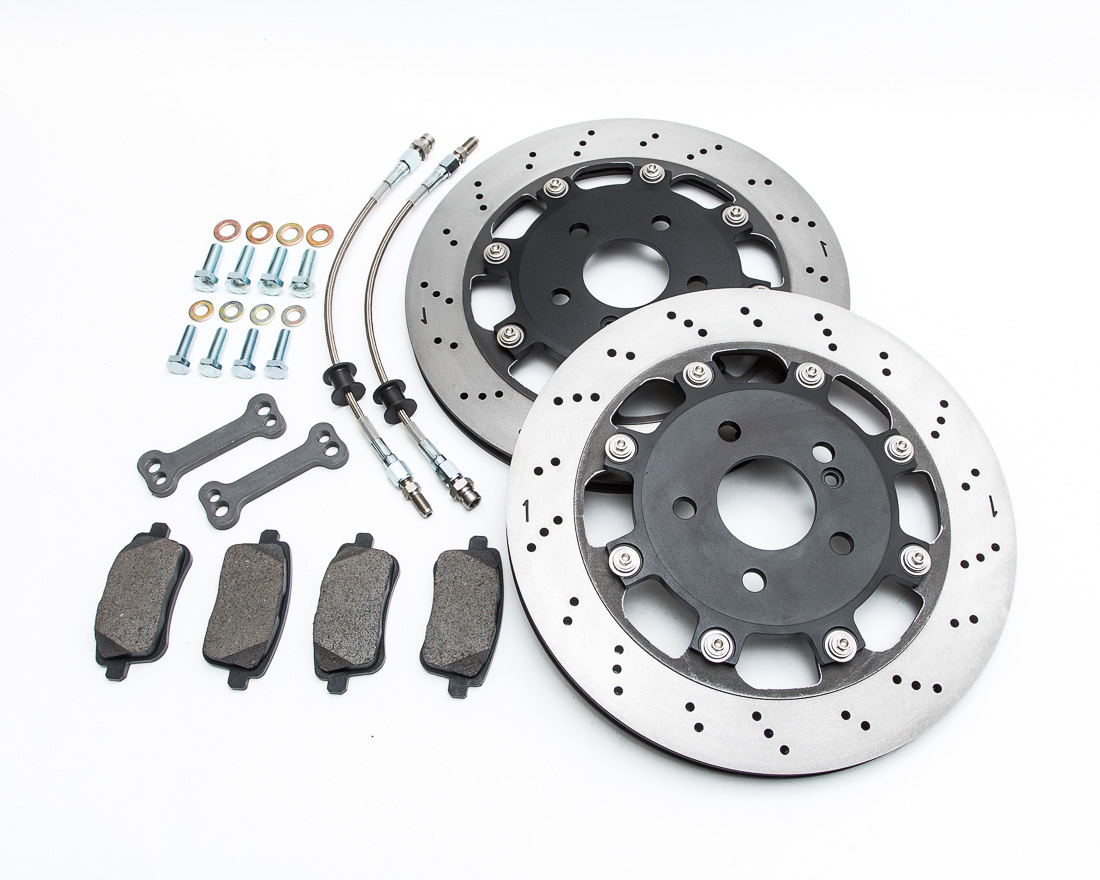Agency Power Rear Brake Rotor Upgrade Kit Mercedes CLA45 | A45 | GLA45 - AP-CLA45-460