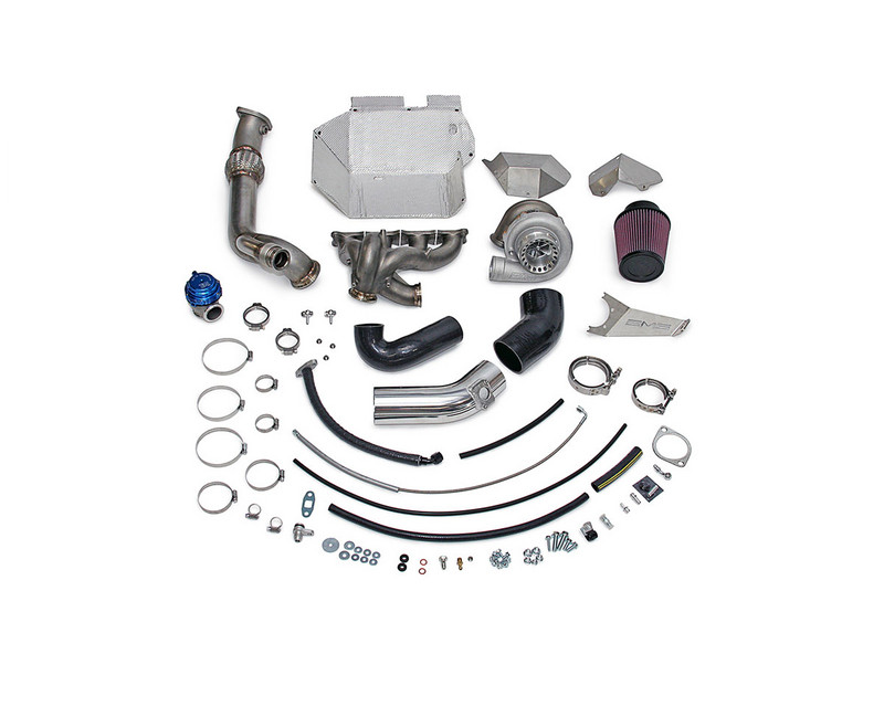 AMS Performance 900XP Billet V band Turbo Kit with Vented Wastegate Provision Mitsubishi Evolution X 08-14