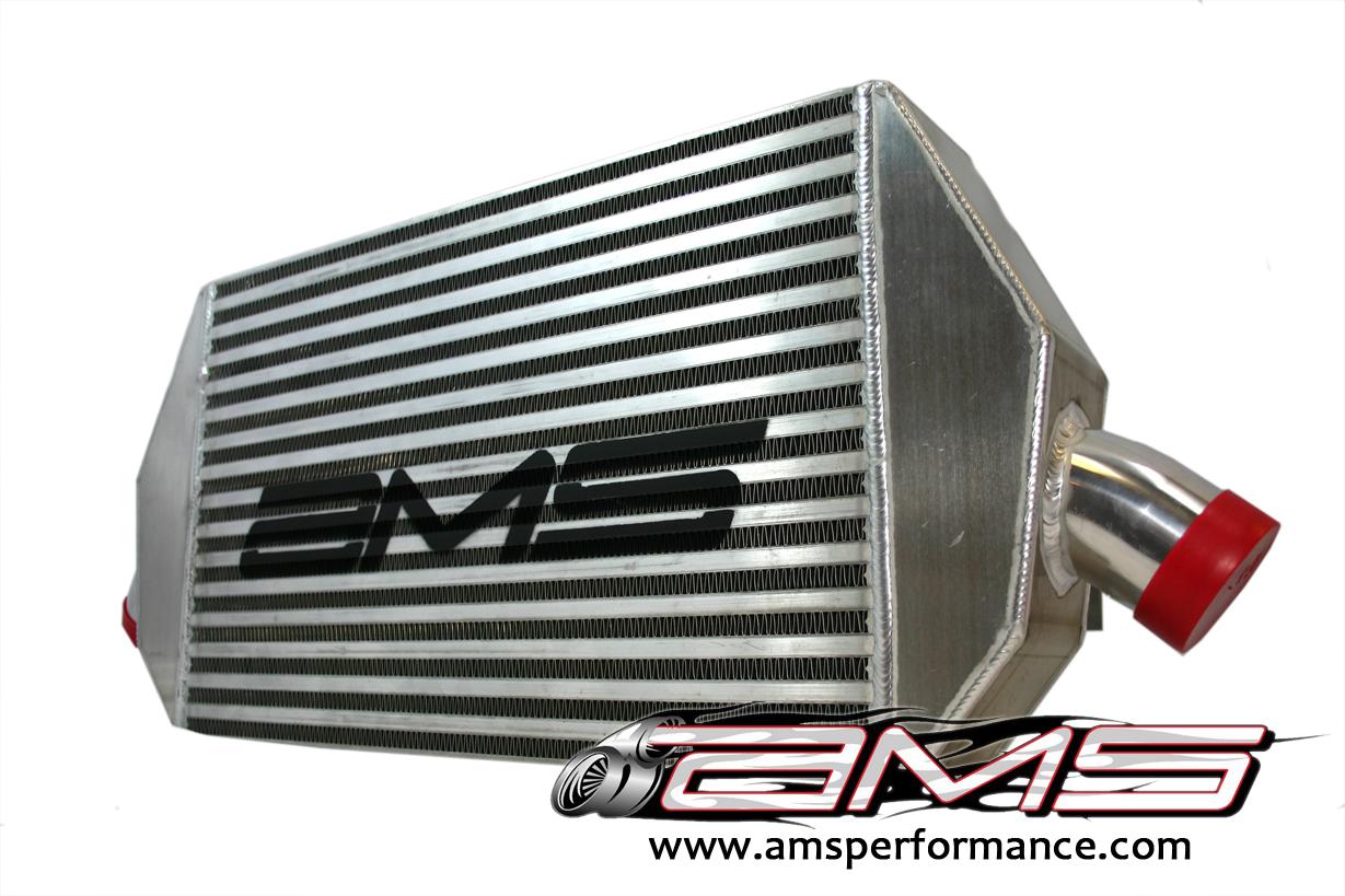 AMS Intercooler with Logo Mitsubishi Evolution VIII IX 03-07 - AMS.01.09.0101-1