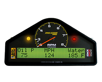 Auto Meter Pro Comp In-Dash 0-3-8k Tachometer w/Programmable Features
