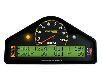 Auto Meter Pro Comp In-Dash 0-3-10k Tachometer w/Playback Mode