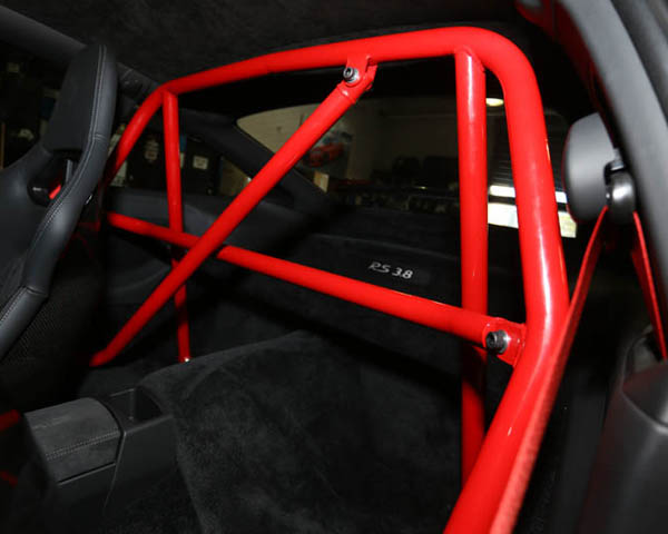 Agency Power Race Roll Bar with Harness and Diagonal Bar Porsche 996 997 Carrera GT3 Turbo - AP-911-500