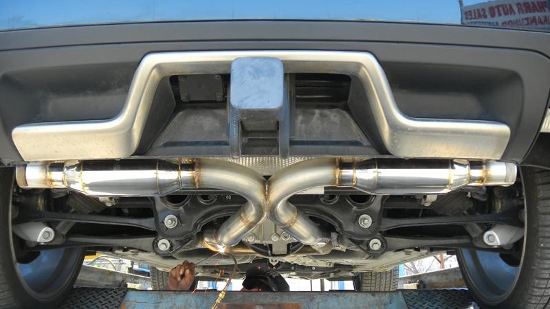 Exhaust Porsche Cayenne s