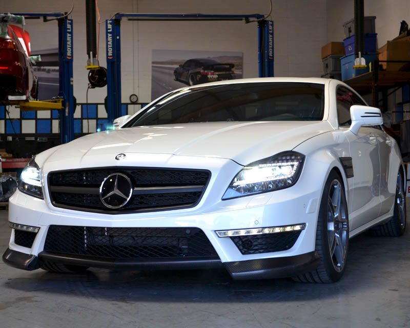 Agency Power Carbon Fiber Front Bumper Spoiler Mercedes-Benz CLS63 12-13 CLEARANCE