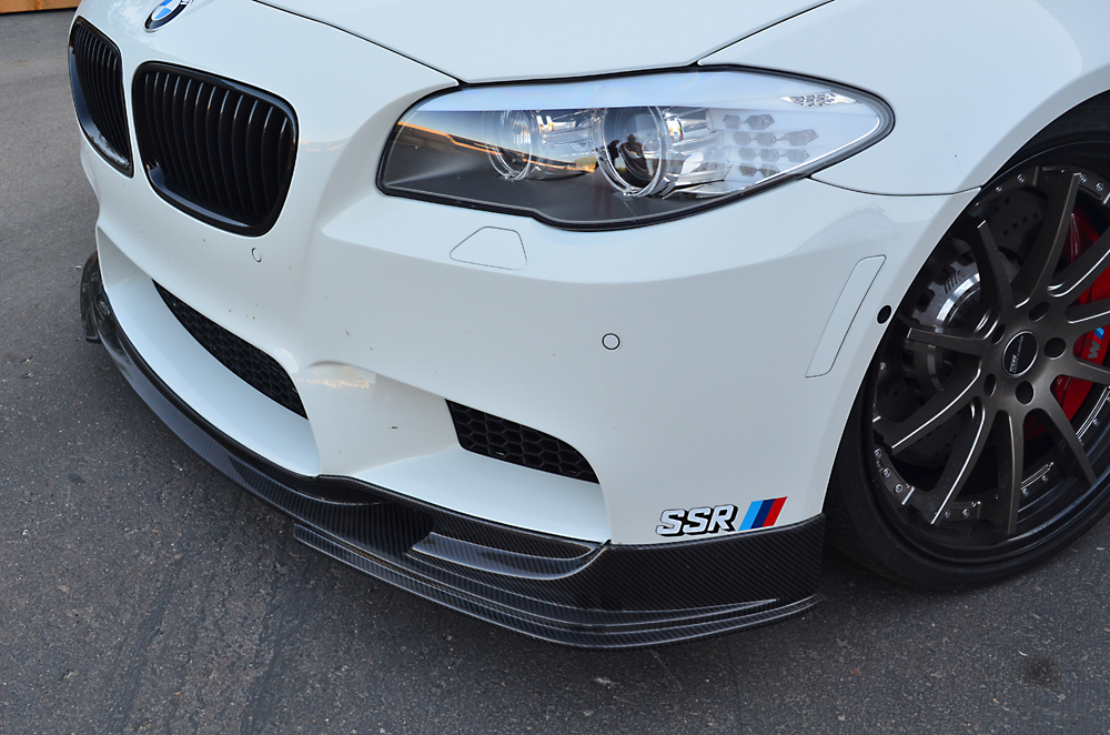 Agency Power Carbon Fiber Front Lip Spoiler BMW M5 F10 12-13