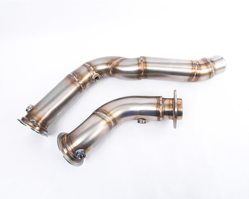 Agency Power High Flow Catless Stainless Steel Down Pipes BMW M3 F80 2015