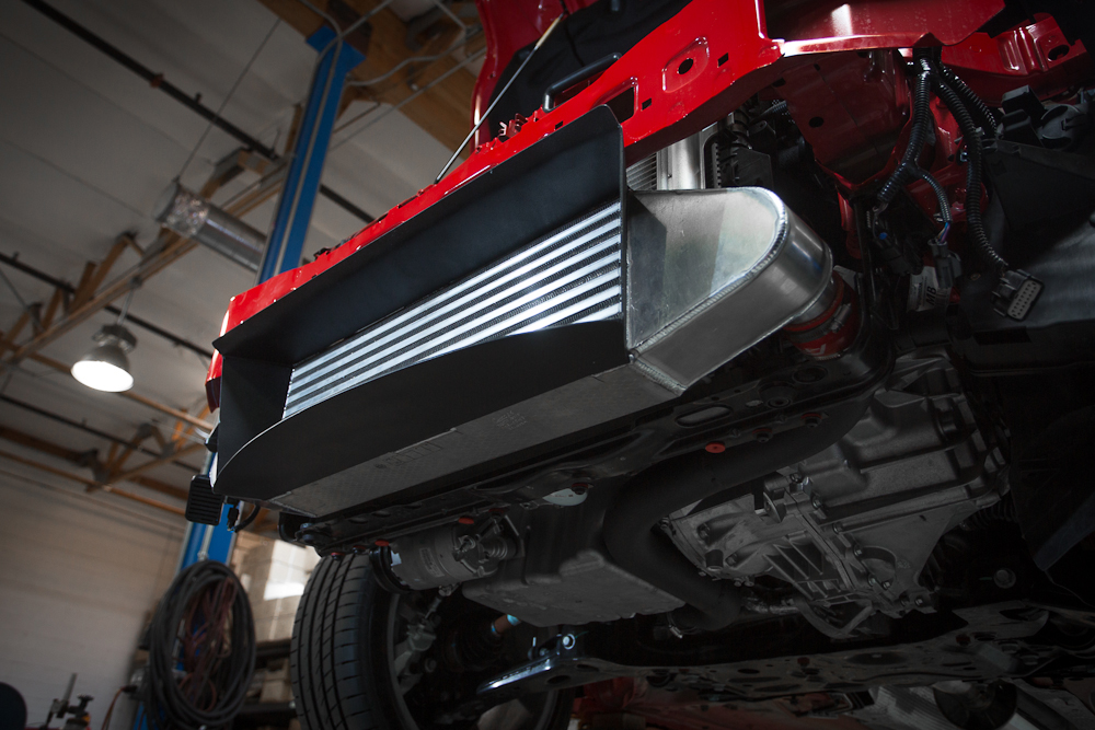 Agency Power Intercooler Upgrade with Ducting 600hp Rated Ford Focus ST 2013-14