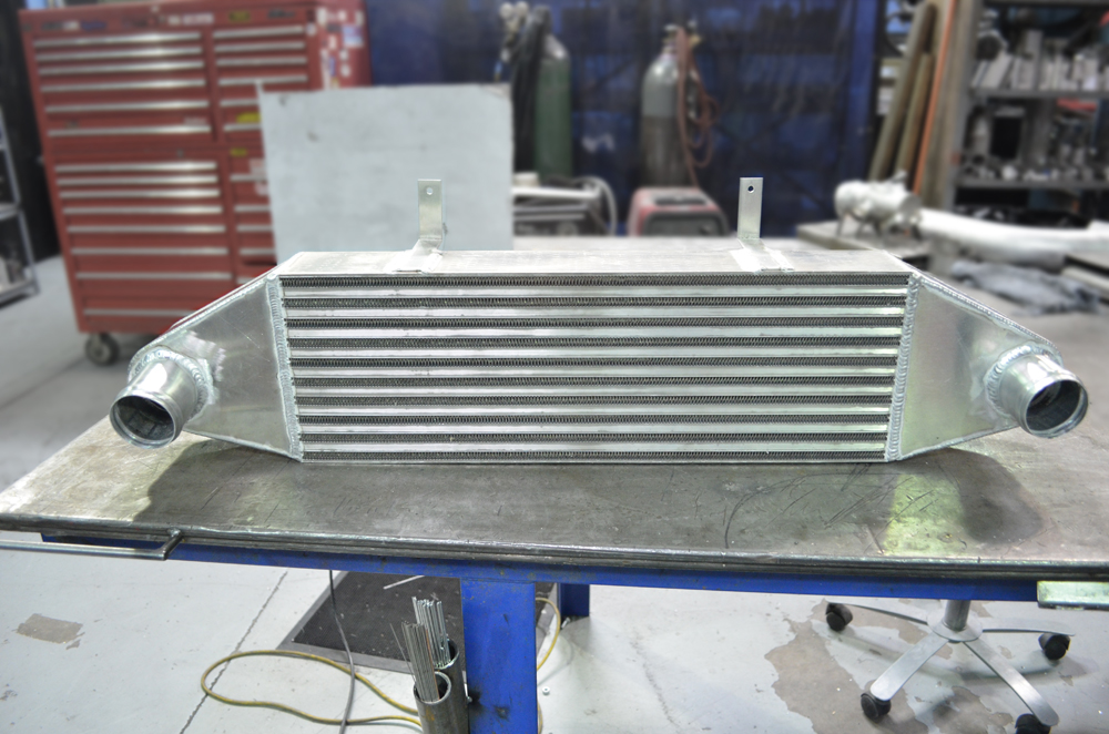 agency power intercooler upgrade with ducting 600hp rated ford focus st 2013. Black Bedroom Furniture Sets. Home Design Ideas