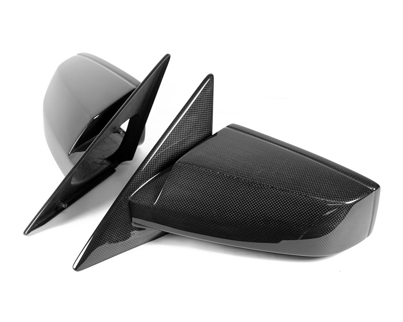 APR Performance Carbon Fiber Mirrors Covers Set Chevrolet Corvette C7/C7 Z06 14-15