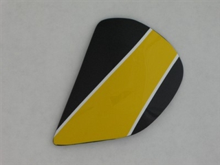 Arai Astral Roberts Replica Yellow Side Pods