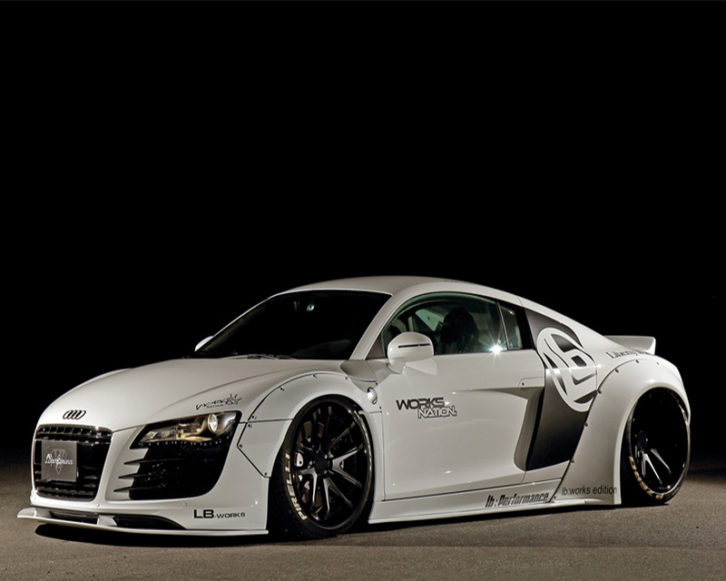 Artisan Spirits Wide Fender Kit Audi R8 08-14