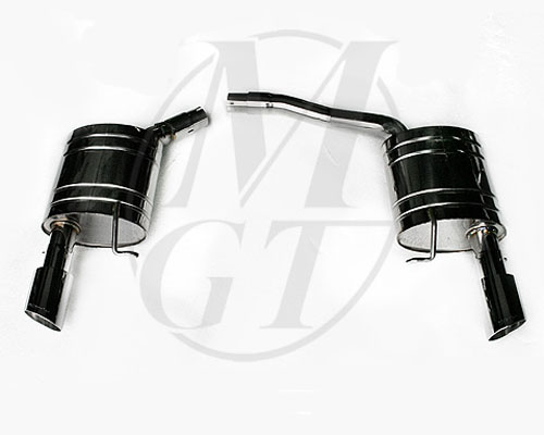 Meisterschaft Stainless HP Touring Exhaust 2x90mm Tips Audi A4 B8 Sedan 3.2L 08+ - AU0621102