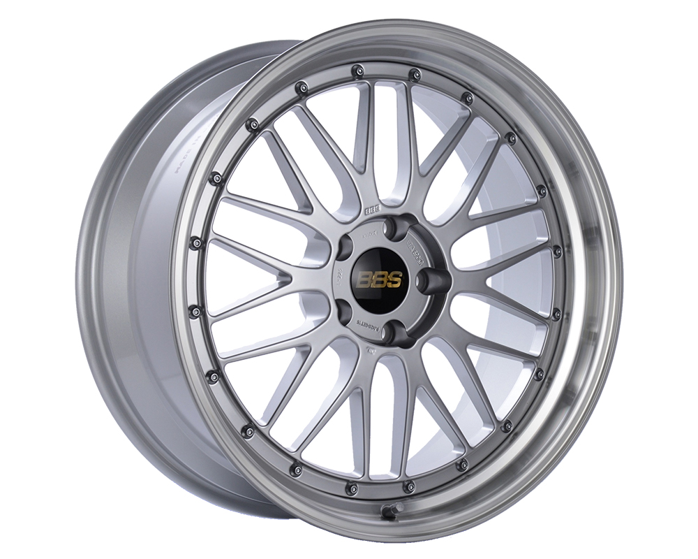 BBS LM Wheel 17x9 5x130 17mm Diamond Silver | Diamond Cut Rim - LM136DSPK