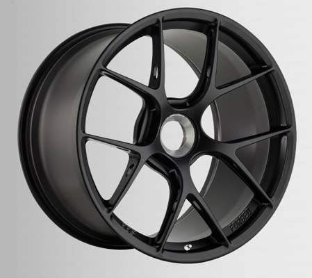 BBS FI-R 20x9 +52 Centerlock Diamond Black Porsche 991 GT3 GT3 RS 14-16 - FI133DBK