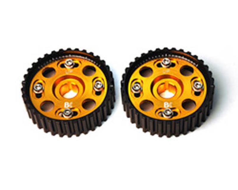 Brian Crower Adjustable Cam Gears w/ARP Fastener Bolts Honda B Series - Pair 89-01