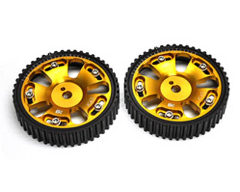 Brian Crower Adjustable Cam Gears w/ARP Fastener Bolts Mitsubishi Evo VIII - Pair 03-05