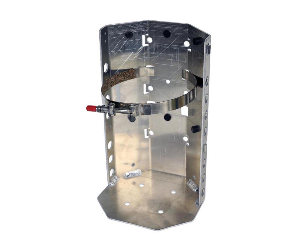 Aluminum 6 Lb Propane Tank Bracket For 6.125 Diameter Cylinder Power Tank - BKT-2287.2