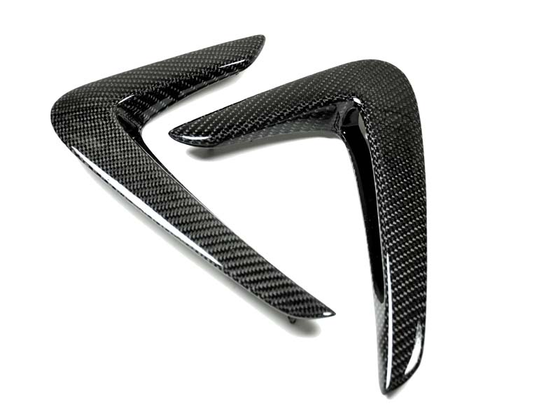 Auto Tecknic Replacment Carbon Fiber Fender Trim BMW 418d F32 14-15